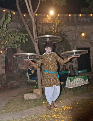 Dancers in Hill Fort Kesroli