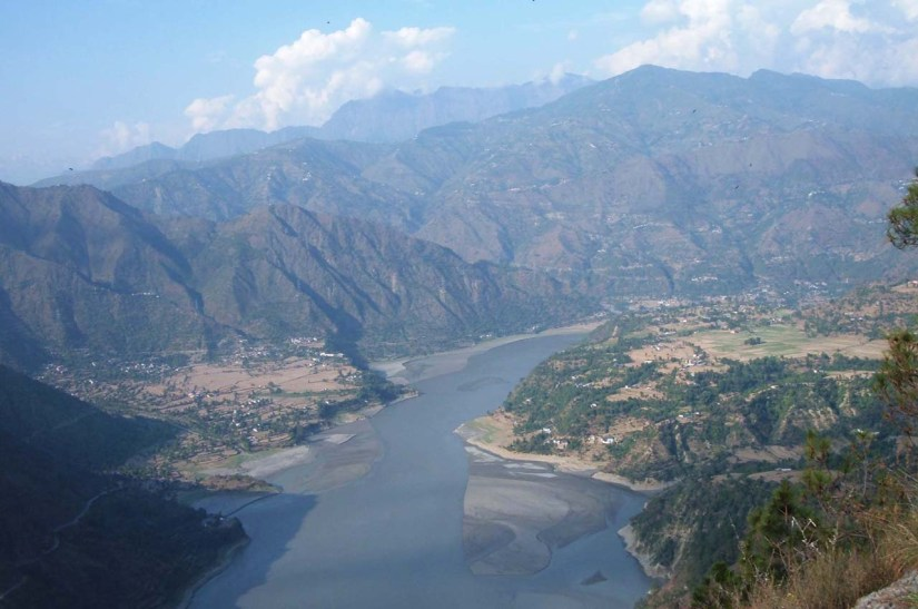 Hills, River and Valley