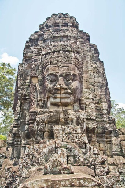 Faces of Bayon temple, Siem Reap