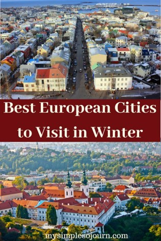 Best European Cities to Visit in Winter #Europe #winter #travel