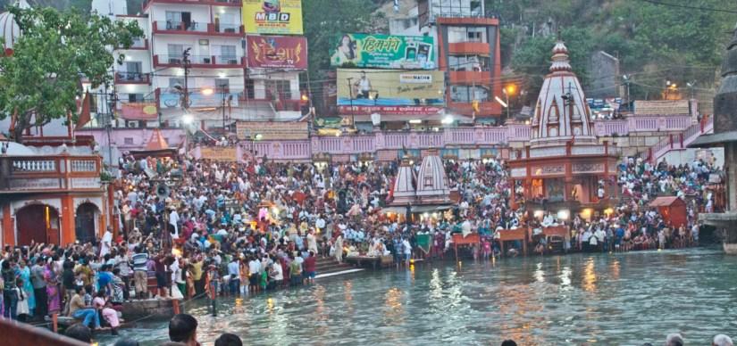 Ganga Aarti at Har ki Pauri Haridwar