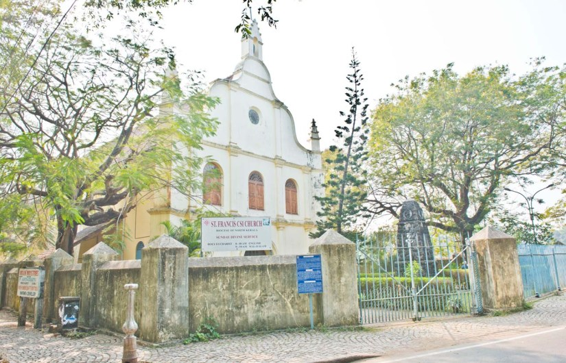 St Francis Church in Fort Kochi