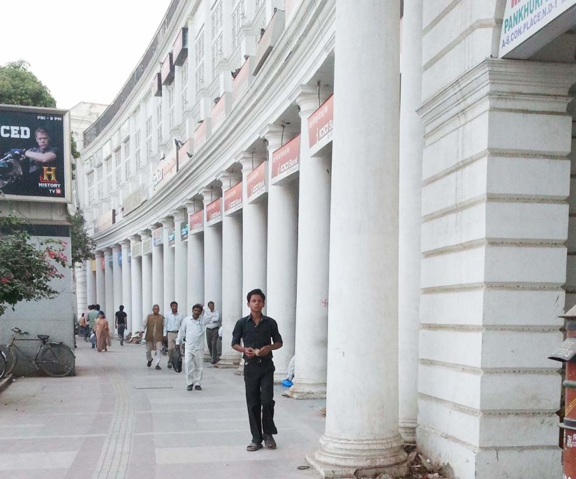 Connaught Place in New Delhi