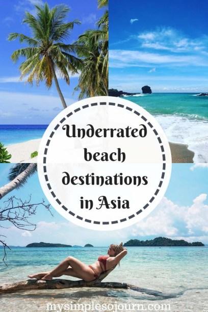 Underrated beach destinations in Asia