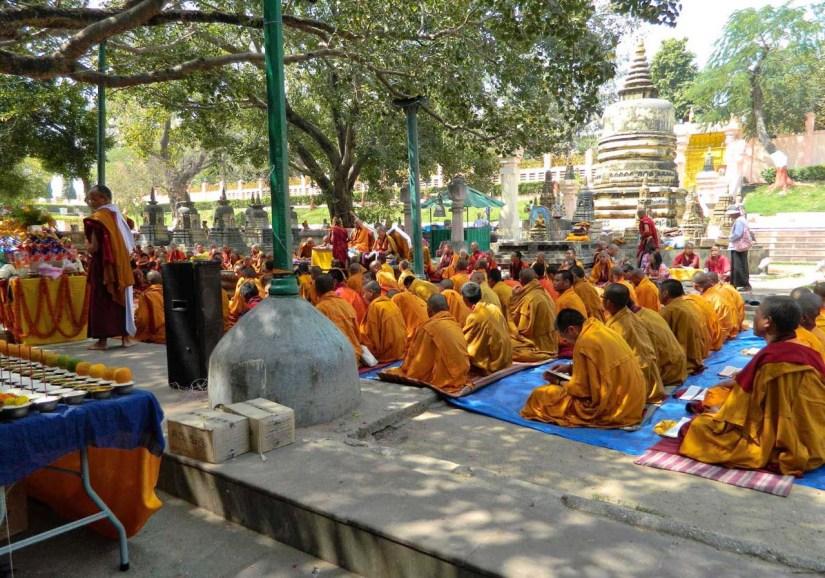Mahabodhi Temple in Bodhgaya