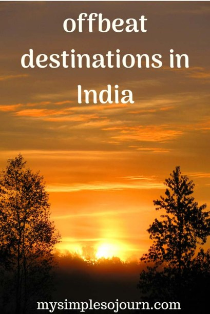 Some of the offbeat destinations in India