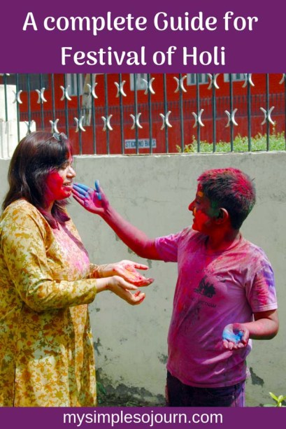 Everything you need to know about the Festival of Colors Holi in India with safety tips