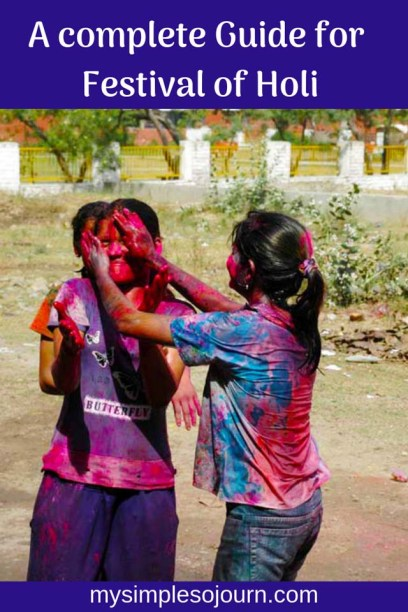 Everything you need to know about the Festival of Colors Holi in India with safety tips #India #holi #holifestival #safetytips #holiguide #indianfestival