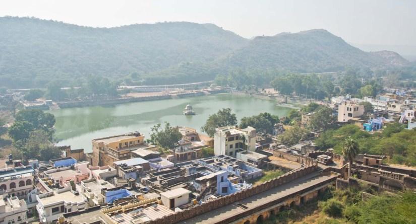 Nawal sagar lake from Taragarh Fort
