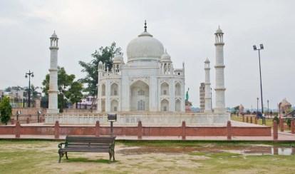 Taj Mahal at Seven wonder Park kota