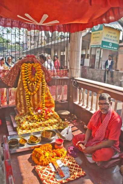 In Kamakhaya temple Guwahati