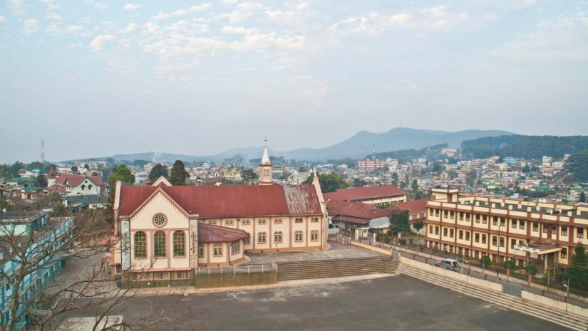 View from Don bosco museum shillong