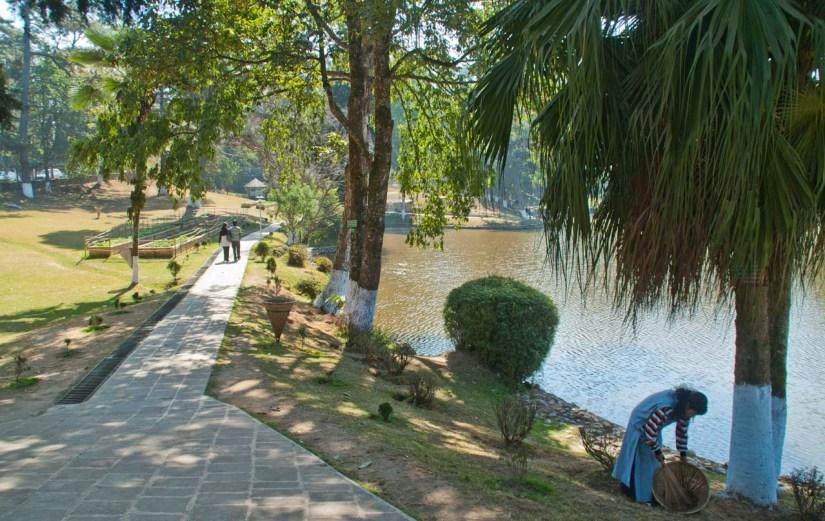 Ward lake Shillong