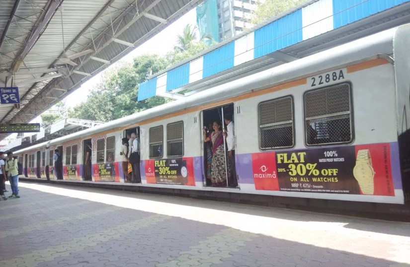 Mumbai Railway station and local train