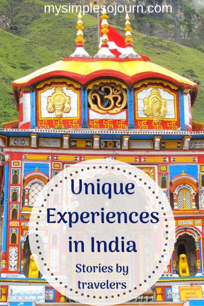 Unique experiences in India - More then Silk and Spice #India #experience #culture #uniqueexperience #travelguide #traveltips #indiancustoms #indiantraditions