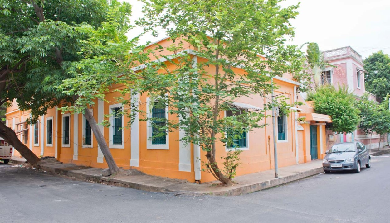 Pondicherry buildings