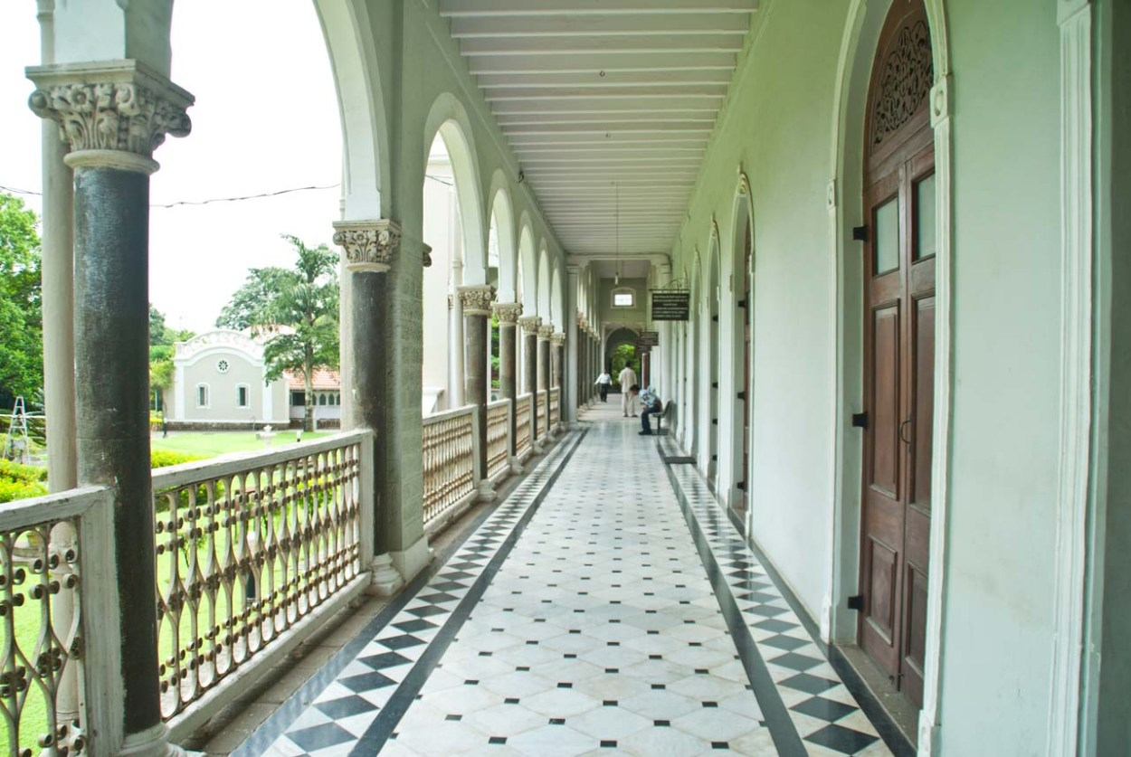 Aga Khan Palace Pune corridors