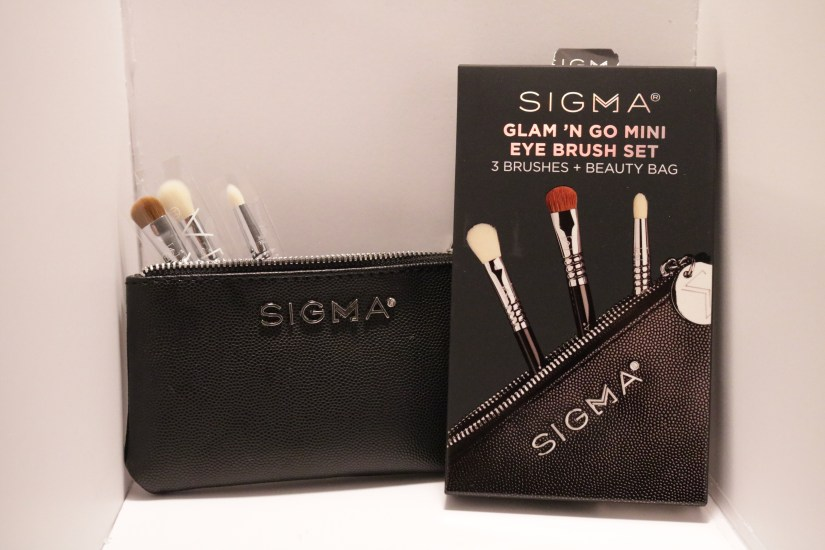 Sigma Glam nGo brush set