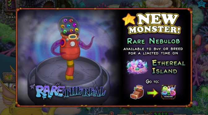Rare Nebulob is here!
