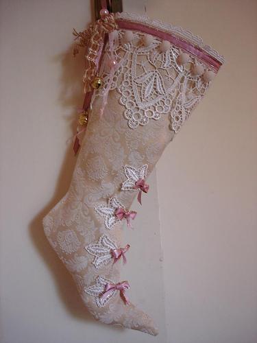 stocking-victorian