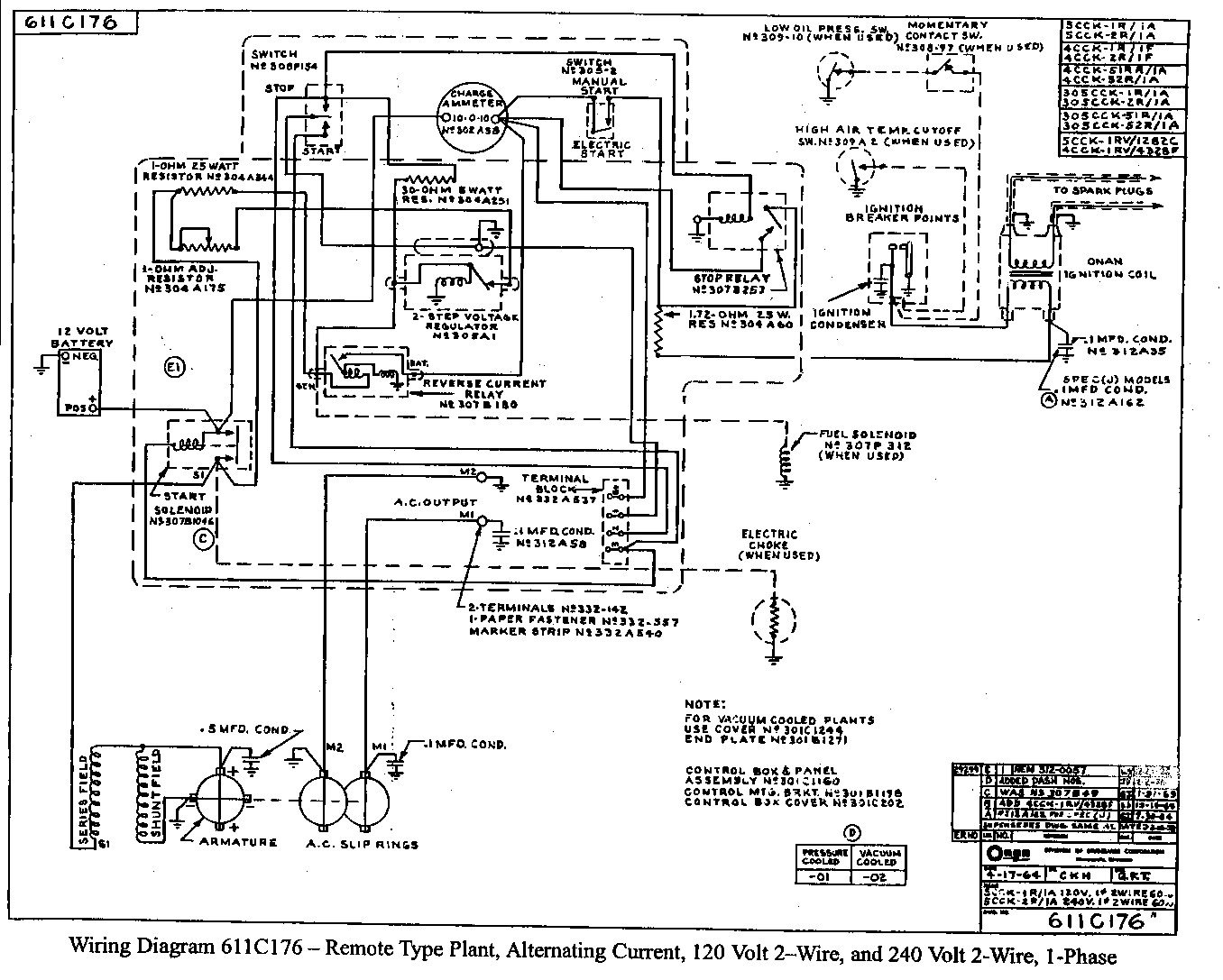 Diagram Onan Rv Generator Wiring Generators