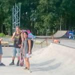 Lundby Betongpark utanför Borås Skatepark