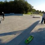 Ängelholm Betongpark Skatepark
