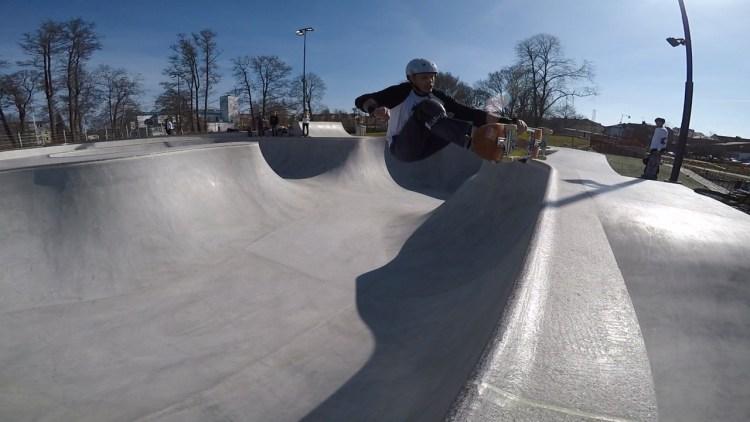 Värnamo Skatepark Betongpark