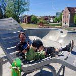 Lundby Betongpark vid Borås Skatehall