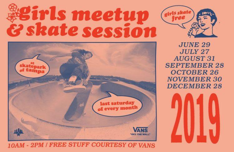 Tampa skatepark girls-meetup
