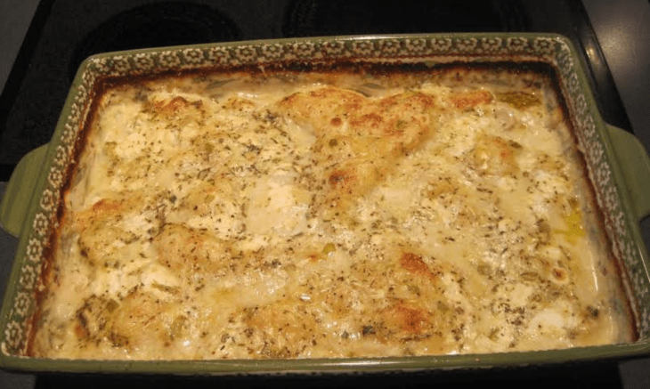 Baked Chicken and Dumplings
