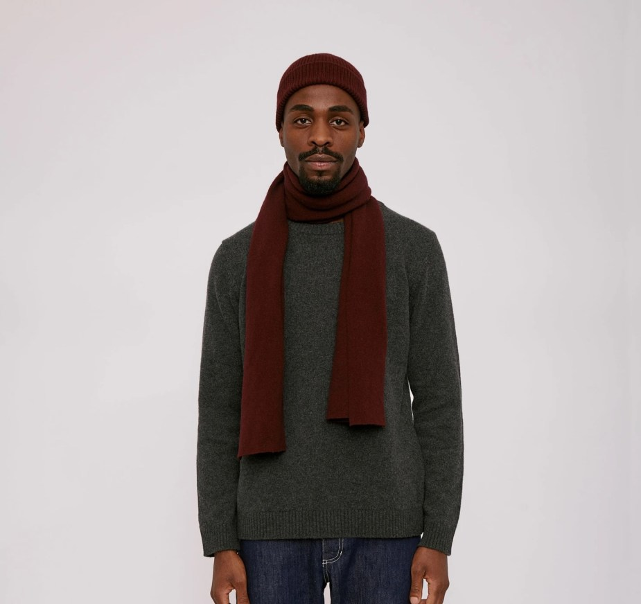 sustainable recycled cashmere