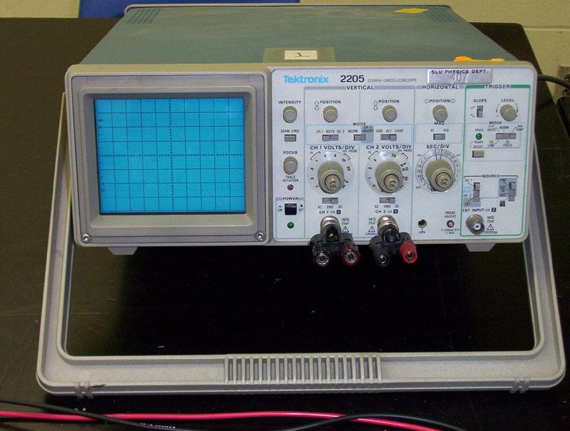 Physics 152 Lab Setup Instructions Oscilloscopes