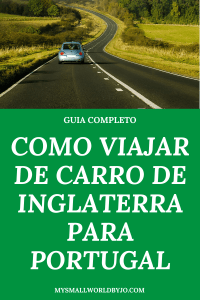viajar de Inglaterra para Portugal de carro