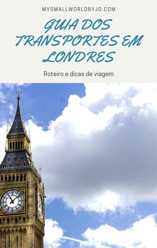 Guia dos transportes em Londres