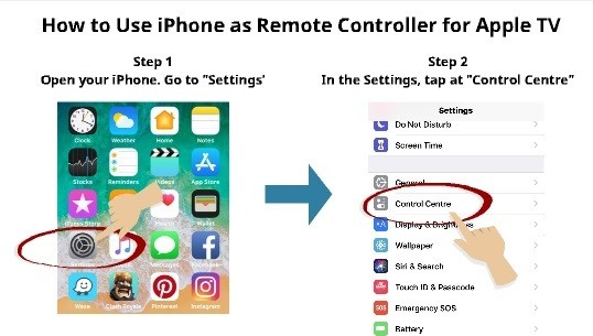 How to use iPhone as TV Remote 2