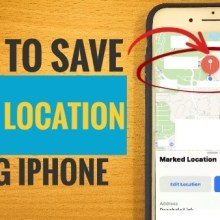 How to Save Your Location Using iPhone