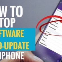 How to Stop Software Automatic Update on iPhone