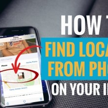 How to find location from photos on your iPhone