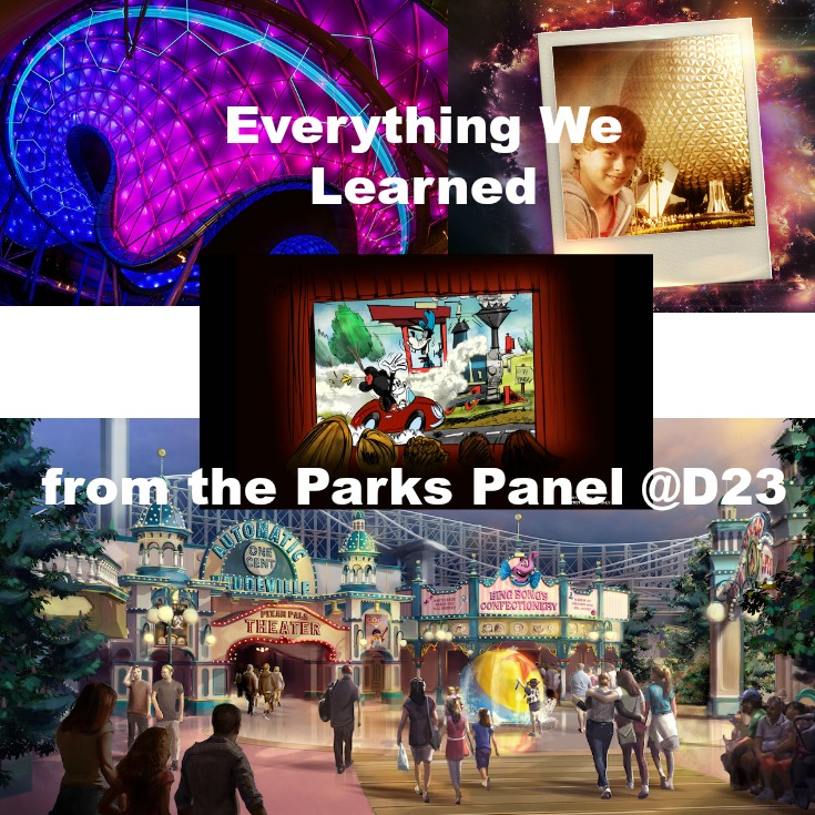 Everything We Learned from the Parks & Resort Panel at D23