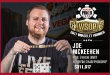 2017 WSOP: Joe McKeehen Wins Second Bracelet In $10k Limit Hold'em
