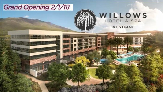 """Viejas Casino in San Diego County to open new """"adult only"""" luxury tower"""