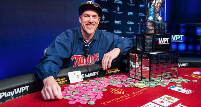 David Larson Wins 2018 World Poker Tour Rolling Thunder Main Event