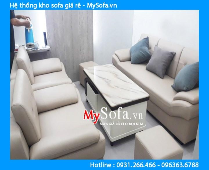 Bộ bàn ghế sofa chung cư giá rẻ