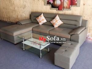 Mẫu ghế Sofa da đẹp và sang trọng AmiA SFD154