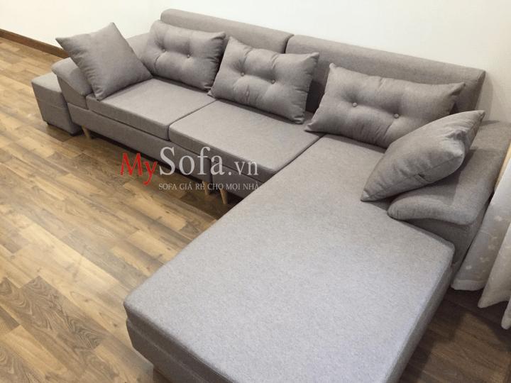 Hình ảnh ghế Sofa nỉ AmiA SFN162