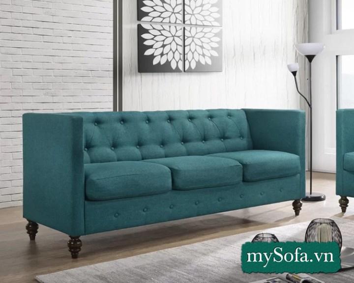 Mẫu ghế sofa văng tựa lưng cao