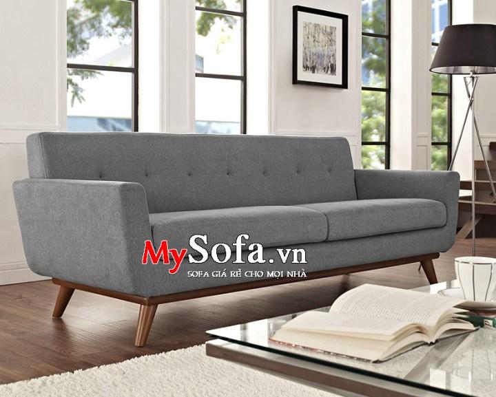 Ghế sofa văng nỉ AmiA SFN095 màu ghi