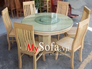 Mẫu bàn ăn đẹp và sang trọng AmiA BA011