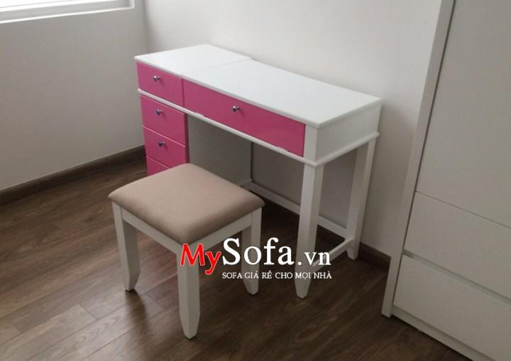 Hình ảnh mẫu bàn trang điểm đẹp AmiA BTD1010